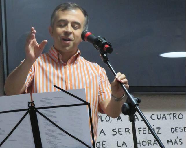 Eduardo Mohedano recitando