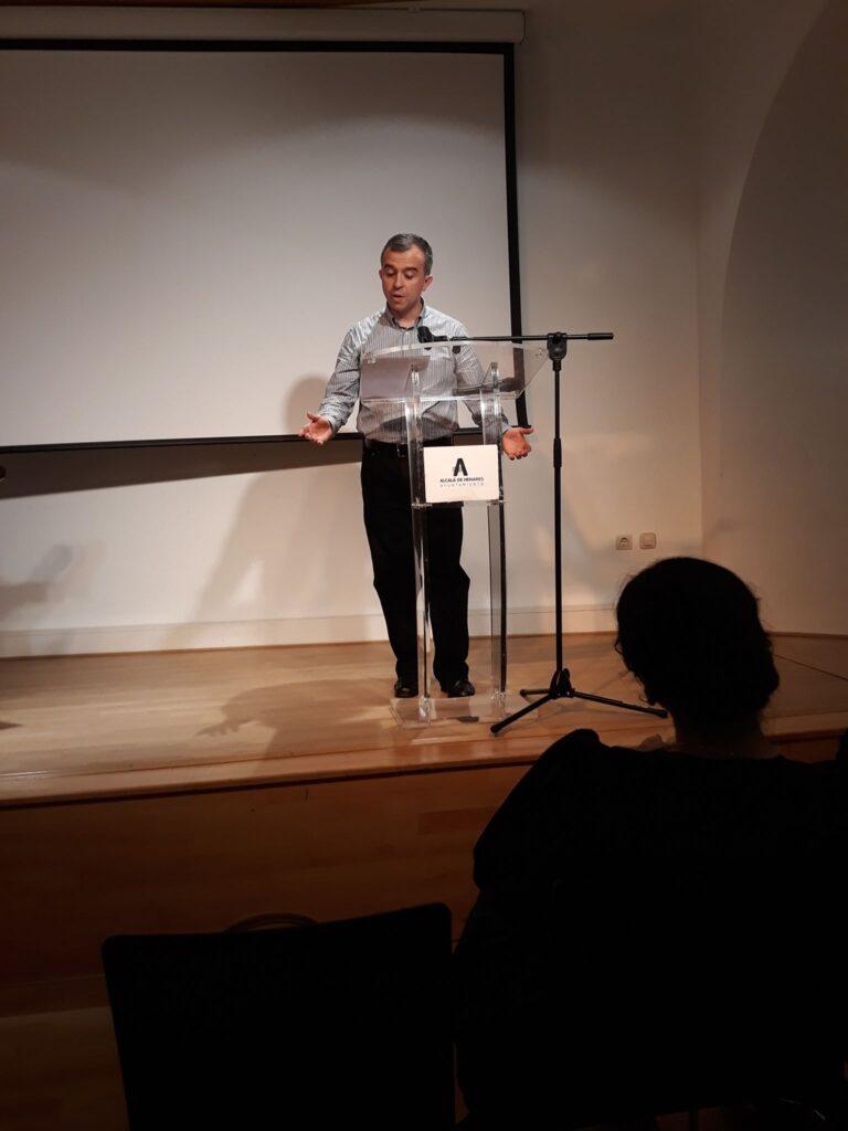 Eduardo Mohedano recita a Mariana