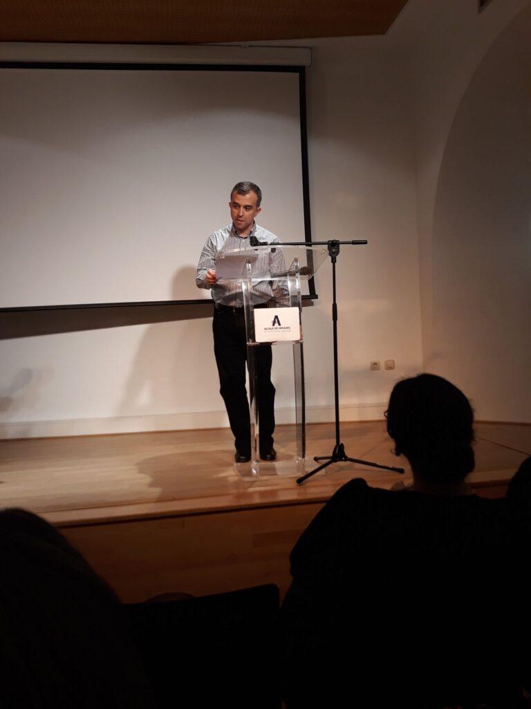 Eduardo Mohedano dedica a Mariana