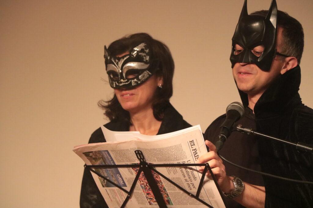 Batman y Catwoman divertidos