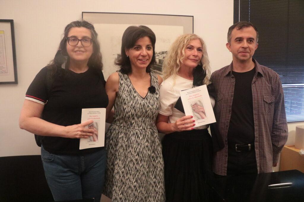 Con Pilar González y Aurora Martínez