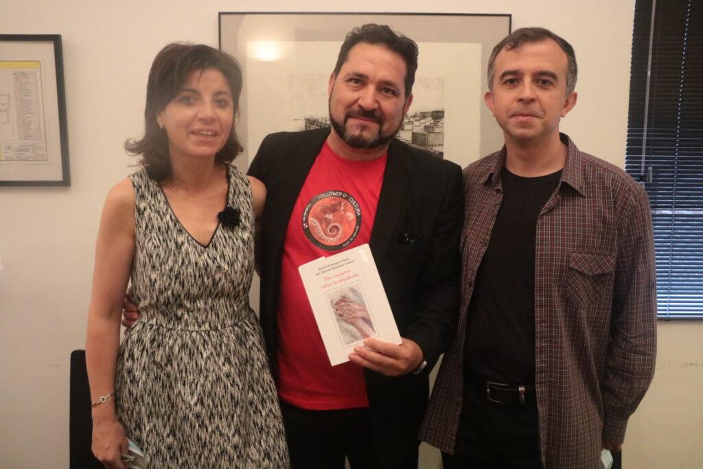 Con Miguel Ángel Simal