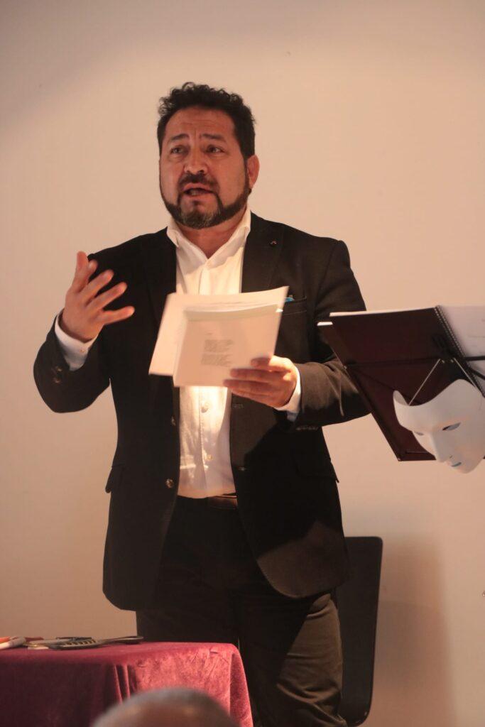 Miguel Ángel Simal como presentador